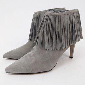 Sam Edelman Kandice Fringe Ankle Booties NEW 8